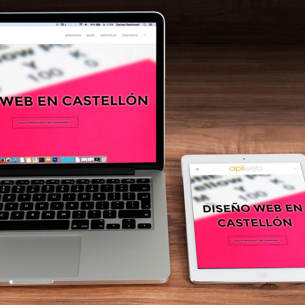 Así se visualiza una web con un diseño responsive