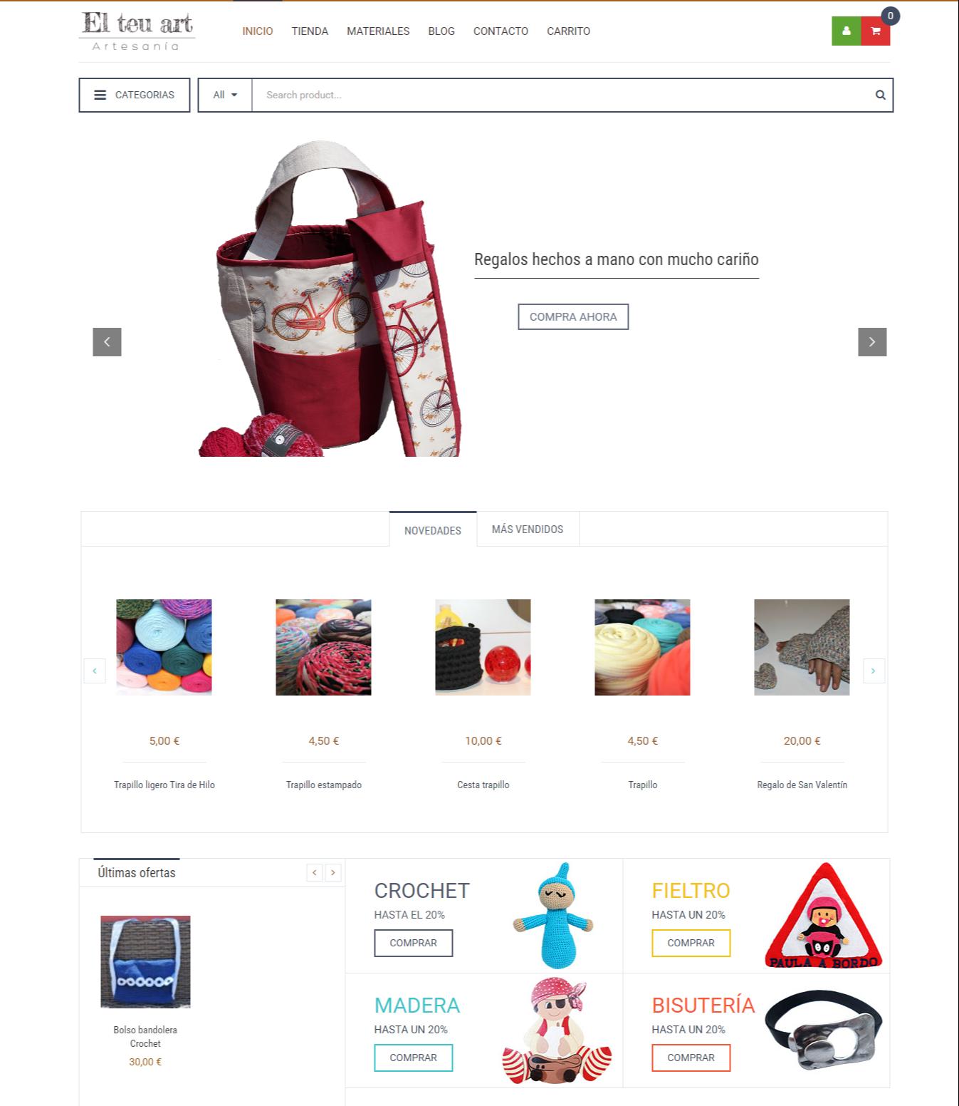 El teu Art - Tu tienda de artesania online
