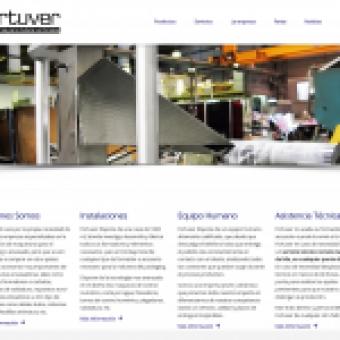 Diseño web corporativa Fortuver