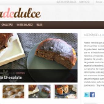 Diseño web repostería Vadedulce.com